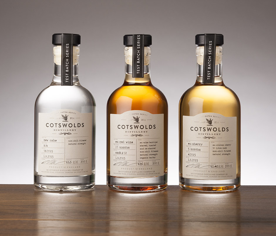 New Cotswolds Distillery Test Batch Series Launched