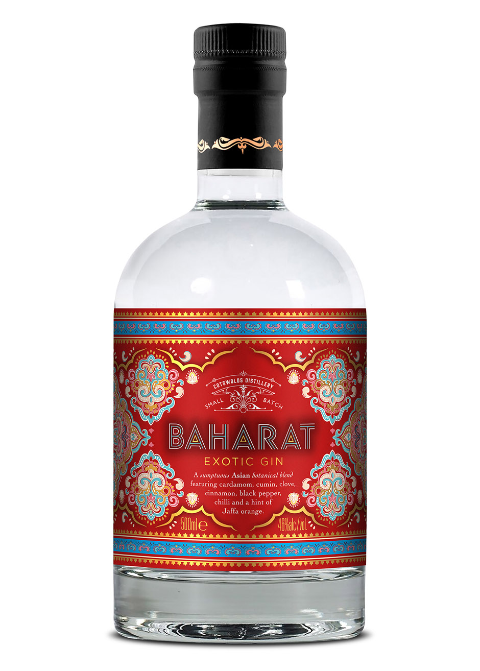 Exotic Asian Twist for Cotswolds Gin
