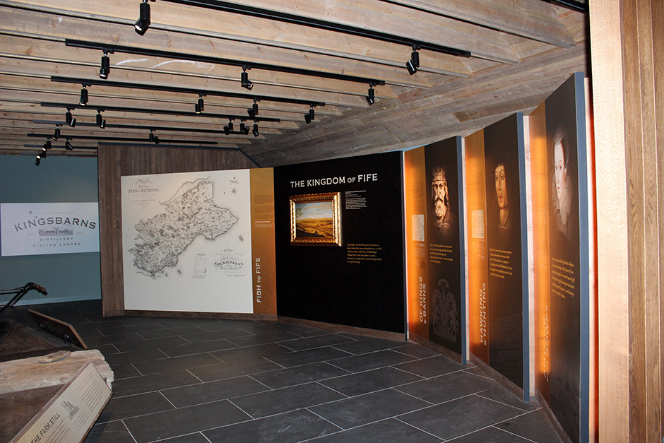 Kingsbarns Visitor Centre Graphics